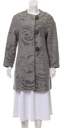 Giorgio Armani Jacquard Short Coat
