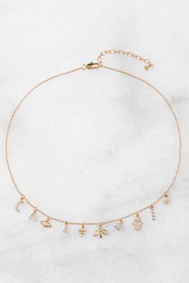 Tai Hamsa Gold Charm Necklace