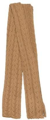 Portolano Woven Cable Knit Scarf