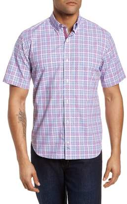 Tailorbyrd Ale Regular Fit Check Sport Shirt