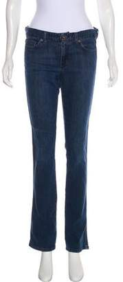 Calvin Klein Jeans Mid-Rise Straight-Leg Jeans
