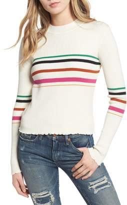 BP Lettuce Edge Multi Stripe Sweater