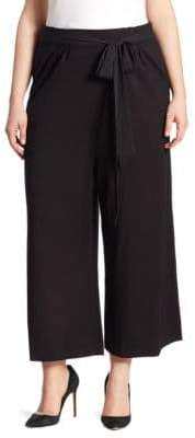Joan Vass Plus Belted Culottes