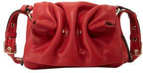 Valentino Bloomy Mini Gathered Leather Shoulder Bag