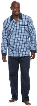 Jockey Big & Tall Woven Pajama Set