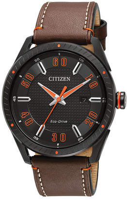 DRIVE FROM CITIZEN ECO-DRIVE Drive from Citizen Brown Strap Watch-Bm6995-19e