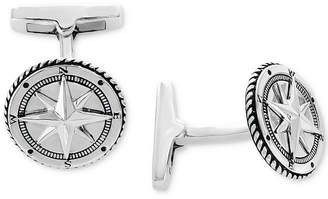 Effy Men Rope-Style Compass Cuff Links Sterling Silver