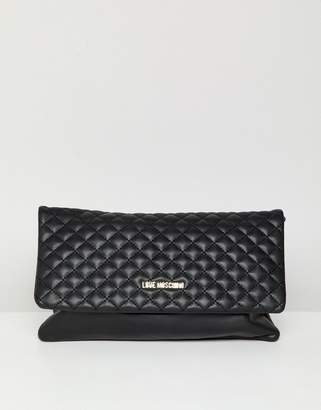 Love Moschino Quilted Logo Chain Bag