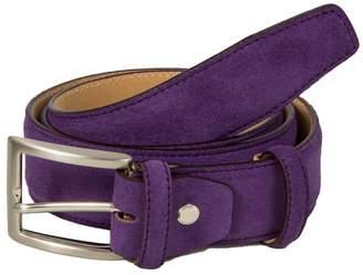 40 Colori - Purple Trento Leather Belt