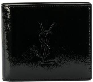 Saint Laurent logo monogram wallet