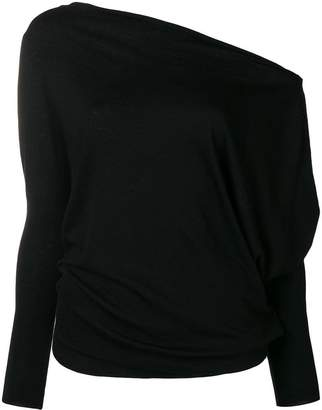 Patrizia Pepe dropped shoulder top