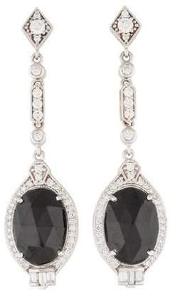 Penny Preville 18K Diamond & Onyx Drop Earrings