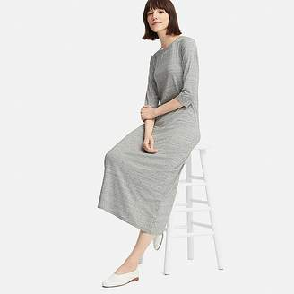 Uniqlo Women's 3/4 Sleeve Bra Dress (online Exclusive)