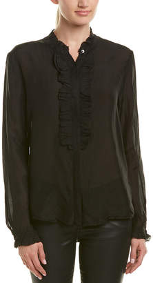 Velvet by Graham & Spencer Willow Silk Blouse
