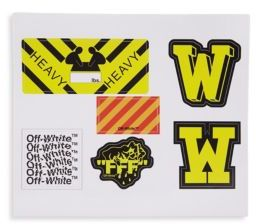 Off-White Creative Miscellaneous Stickers