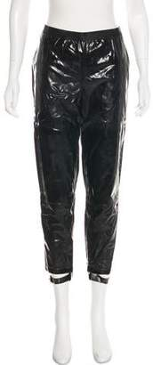 Les Chiffoniers Mid-Rise Vegan Leather Pants w/ Tags