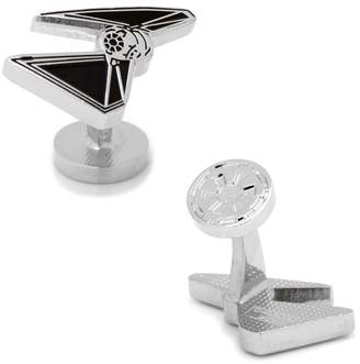 Star Wars Tie Striker Plated Cufflinks