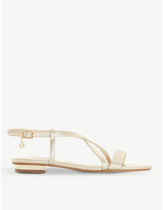Dune Nenna strappy patent sandals