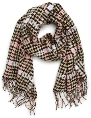 David & Young Houndstooth Scarf