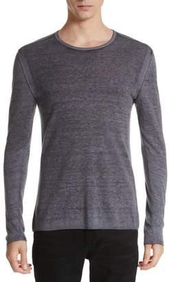 John Varvatos Collection Silk & Cashmere Crewneck Sweater