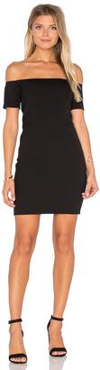 Line & Dot Cecil Off Shoulder Dress $149 thestylecure.com