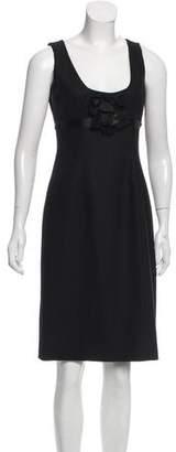 Rebecca Taylor Wool Knee-Length Dress