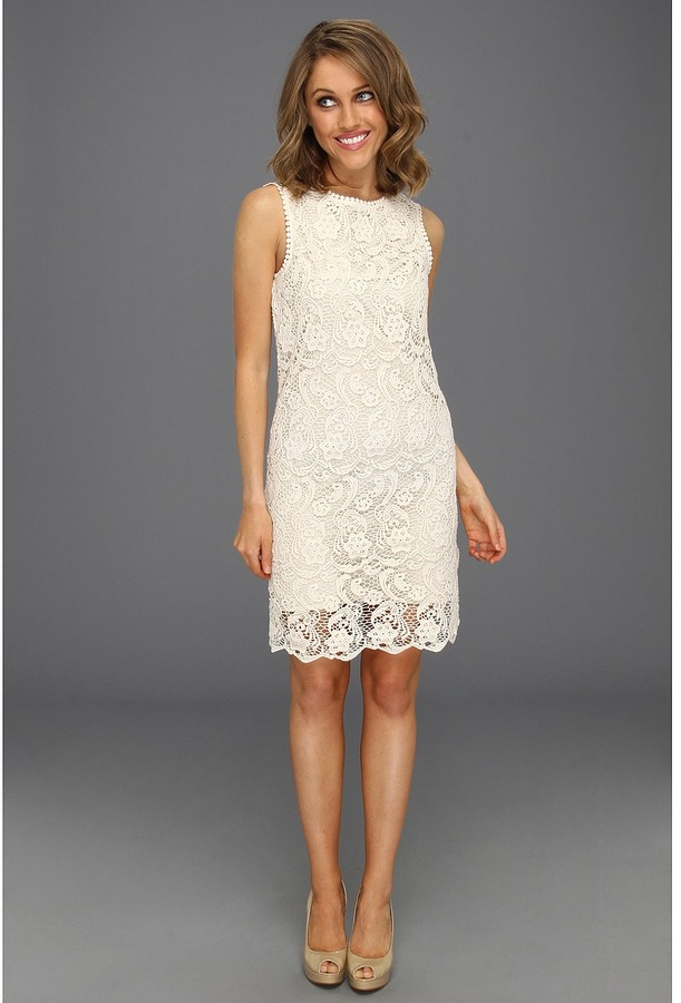 Joie Vionne Dress (Off White) - Apparel