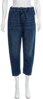 Vince Cropped High-Rise Jeans w/ Tags