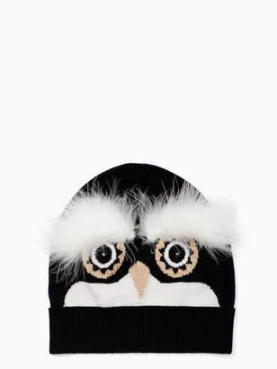 Kate Spade penguin intarsia beanie