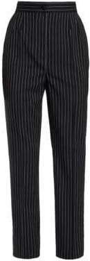 Dolce & Gabbana Striped Cropped Trousers