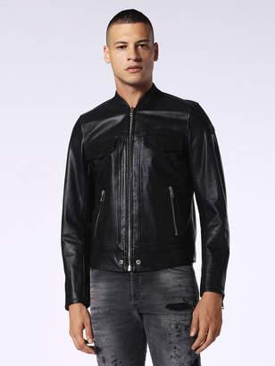 Diesel Leather jackets 0GAQX - Black - L