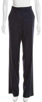 Loro Piana Mid-Rise Wool Wide Leg Pants w/ Tags