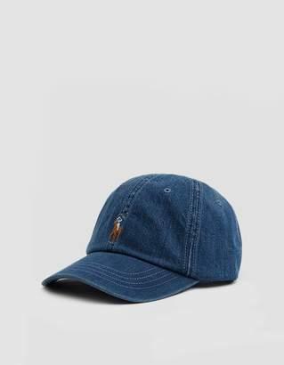 Polo Ralph Lauren Classic Sports Cap in Denim