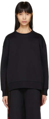 Stella McCartney Black All Is Love Side Ribbon Sweatshirt