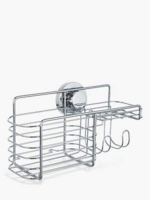 Bliss Lock N Roll Combination Suction Shower Basket