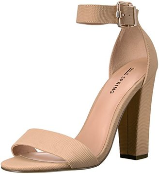 Call It Spring Women's Arther Dress Sandal $49.99 thestylecure.com
