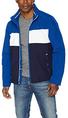Tommy Hilfiger Men's Big and Tall Stand Collar Lightweight Yachting Jacket