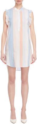 Stella McCartney Striped Mini Shirtdress