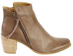 EOS NEW Womens Boots Clinto Leather Ankle Boot Kangaroo
