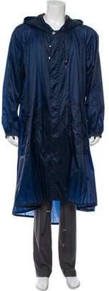 Versace Oversize Rain Jacket w/ Tags