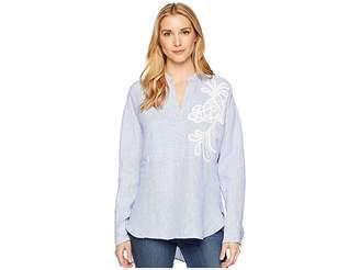 Lauren Ralph Lauren Embroidered Linen Shirt