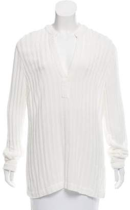 Massimo Alba Long Sleeve V-Neck Top w/ Tags
