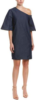 Tibi One-Shoulder Mini Dress