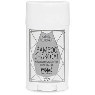 Primal Elements ALL NATURAL DEODORANT BAMBOO CHARCOAL