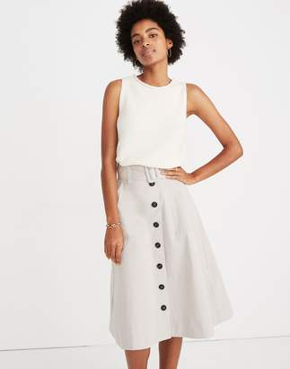Madewell Trench Circle Skirt
