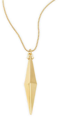 Trina Turk Slim Pyramid Pendant Necklace