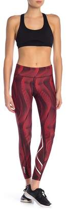 2XU Mid Rise Printed Compression Tights