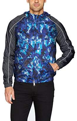 Armani Exchange A|X Men's All Over Printed Eagle Camo Jacket