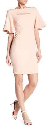 Jay Godfrey JAY X JAYGODFREY Bardot Cutout Dress