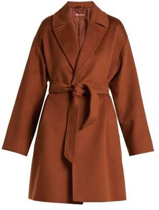 Max Mara Studio - Crasso Coat - Womens - Brown